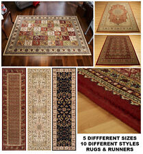 Royal Classic Quality 100% Wool Traditional Multiple Styles & Sizes Rugs Runner