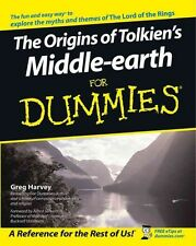 The Origins of Tolkien's Middle-Earth for Dummies by Greg Harvey Paperback Book