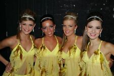 Exquisite yellow feather custom competition lyrical dance costume AXS, AS, ASM