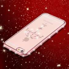 Diamond Plating Frame Transparent Soft TPU Back Cover Cases For iPhone 6 6s Plus