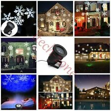 Waterproof Outdoor/Indoor Christmas Projection Lasers Lights Snowflake/Butterfly