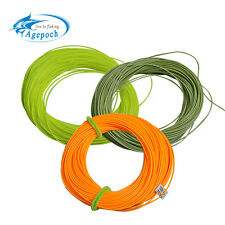 Agepoch 100FT Weight Forward Floating Fly Fishing Line Fly Line Fishing Monofila