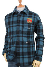 POLO RALPH LAUREN DOUBLE RL RRL PLAID WOOL FLANNEL HUNTING SHIRT JACKET $550+