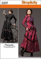 SIMPLICITY 2207 MISSES' STEAMPUNK COSTUME VICTORIAN ERA SEWING PATTERN SIZE 6-20