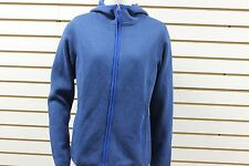 Women's Marmot Sweater Knit Fleece Norhiem Jacket Blue Sapphire 85400 NWT