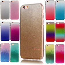 Gradient Bling Glitter Soft TPU Case Cover Back Shell For iPhone/LG/Huawei/ iPod