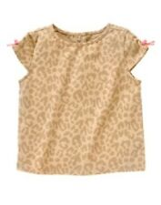 NWT Gymboree Smart Kitties Leopard Print Tee Size 5T