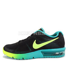 WMNS Nike Air Max Sequent [719916-013] Running Black/Volt-Clear Jade