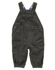 NWT Gymboree Boys Polar Prince Dark Gray Lined Overall Size 6-12 M & 12-18 M