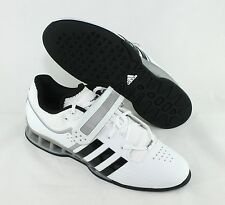 Adidas AdiPower Weightlift Shoes White Black M25733 New Size 11.5 Weightlifting