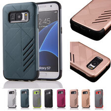 Fashion Shockproof Hybrid Rubber Heavy Duty Protective Case  For iPhone Samsung