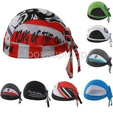Unisex Sports Bicycle Cycling Hat Riding Pirate Headscarf Sunscreen Headband Cap