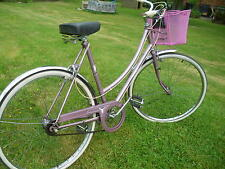 ladies town bike raleigh caprice cameo dutch loop style cycle
