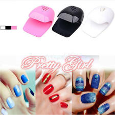 Mini Portable 2*AA Battery Nail Polish Dryer Fan Nail Art Drying Machine Tools