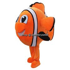 Hot Selling Nemo Fish Mascot Costume Adult Size Costumes Advertising Fancy Dress