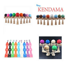 Kid Game Kendama Ball Japan Casual Traditional Wood Balance Skill Toy 32 SSL