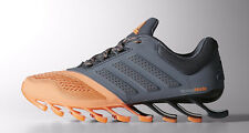 adidas Womens Springblade Drive 2 Neutral Running Shoes - Flash Orange/Onix