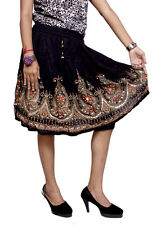 Apparels India Women's Rayon Small Skirt Boho Hippie For Ladies (Free Size)