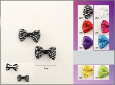Hair Accessories  Sequined Hairbows  For Girls  12 Pc Lot  (EHAH2657#)