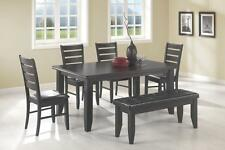 Coaster Dining Table & Chairs Set in Cappuccino (PICK PIECES)-FREE SHIPPING!!