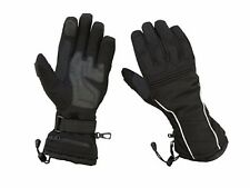 Womens Textile Snowmobile Gloves Winter Driving Waterproof Skiing Insulated