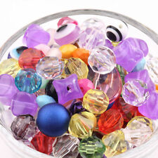 Chic Mixed Candy Color Acrylic Loose Spacer Beads Charm DIY Jewelry Finding Hot