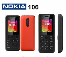 Original Nokia 106 Unlocked Mobile Phone Grade A new condition Free Shipping