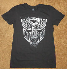 The Transformers ~ Mens T Shirt, New, ~ Movie TV  ~ Black Graphic USA L@@K
