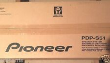 "NEW PIONEER PDP-S51 SPEAKER SYSTEM FOR 60"" PLASMA  (Side Attaching)"