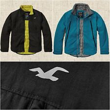 New Hollister Men's All-Weather Jacket Size S, M, L, XL