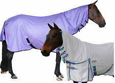 CARIBU ENDURO AIR MESH 410gsm Neck Combo Horse Rug, Strong. White or Purple