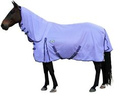 CARIBU Euro-Mesh 270gsm Fly Air Mesh Neck Combo Horse Rug, Cool & Durable PURPLE