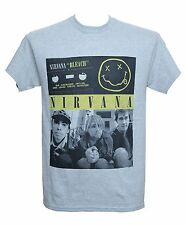 NIRVANA - BLEACH CASSETTE PHOTO - Official T-Shirt - Grunge - New M L XL