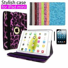 Smart 360 Degree Rotating Leather Stand Case Cover For APPLE iPad mini 1/2/3 Gen