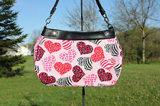 PINK HEARTS GONE WILD *SKIRT ONLY* FOR THE THIRTY ONE BRAND SKIRT PURSE