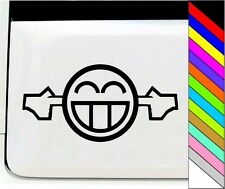 Skin Smiley Face Laugh Funny Vinyl Sticker Decal for car window bumber
