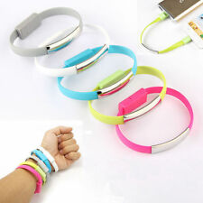 Wristband Micro USB Cable Bracelet Data Charging Line For iPhone HTC SAMSUNG LG