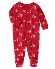 NWT Gymboree Boys Gingerbread Romper Gymmies Preemie up 5lbs & 3-6 M