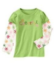 NWT Gymboree Girls Cheery All The Way Cheerful Top Size 3 4 5 & 6