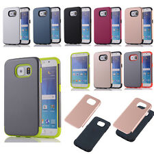 For Samsung Shockproof Heavy Duty Hybrid Rubber Phone Protect Case Cover