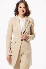 Savoir Tailored Long Jacket 18 20 22 Pockets