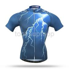 Cool Light Pattern Men's Sport Cycling Jersey Bike Clothing Bicycle Wear Suit