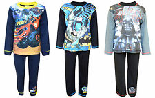 Boys Official Character Batman Superman Star Wars Pyjamas Nightwear Age 4-10 Yrs