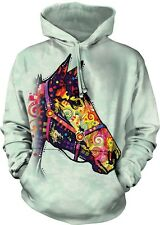 Funky Horse Adult Animal Hoodie The Mountain