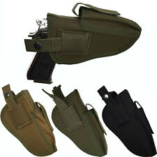 Right/Left Tactical Hand Gun Pistol Holster Magazine Holder Waist Holsters Mount