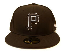 NEW ERA 59FIFTY PITTSBURGH PIRATES BROWN / BROWN CAP MLB BASEBALL FITTED HAT