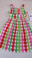 Rare Editions Polka Dot Cotton Dress For Girls Multicolor Sz 14  -  NWT $36