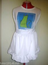 1/2 Aprons M2O Most colors with various trim With name or embroderies See store