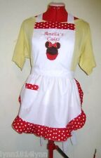KIDS MINNI MOUSE CUPCAKE APRON up to 12 year Avaiable most colors Made to order