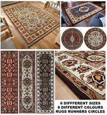 Orient Quality 100% Wool Traditional Multiple Styles Colour & Sizes Rugs Runners